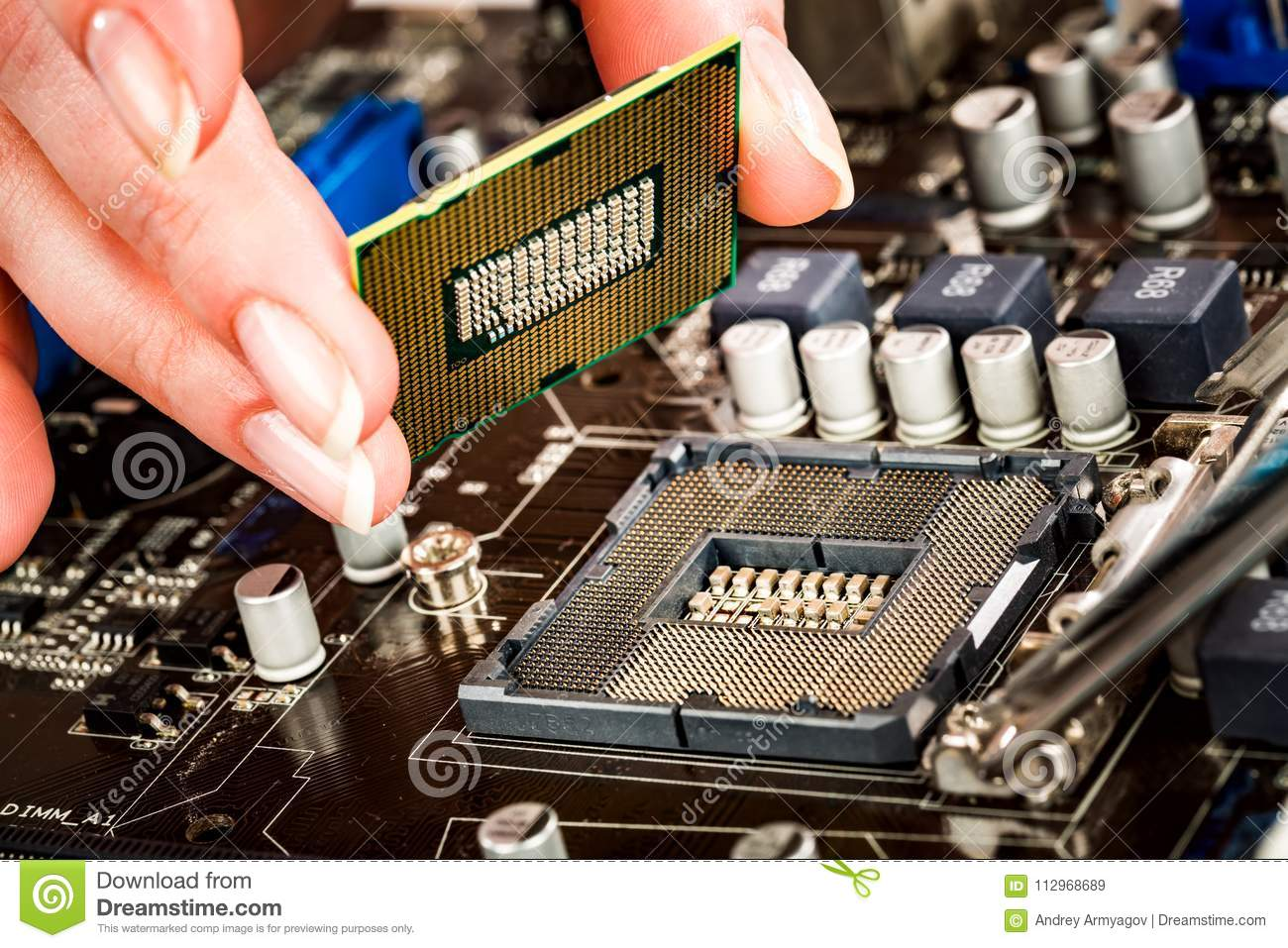 purpose of motherboard processor