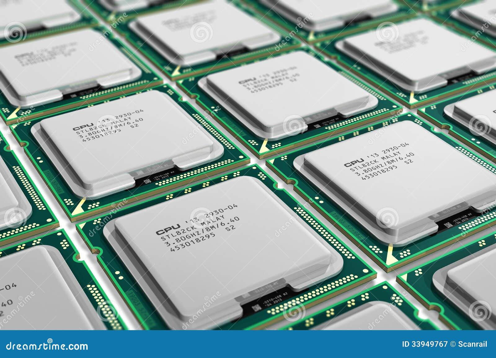 modern processors ...