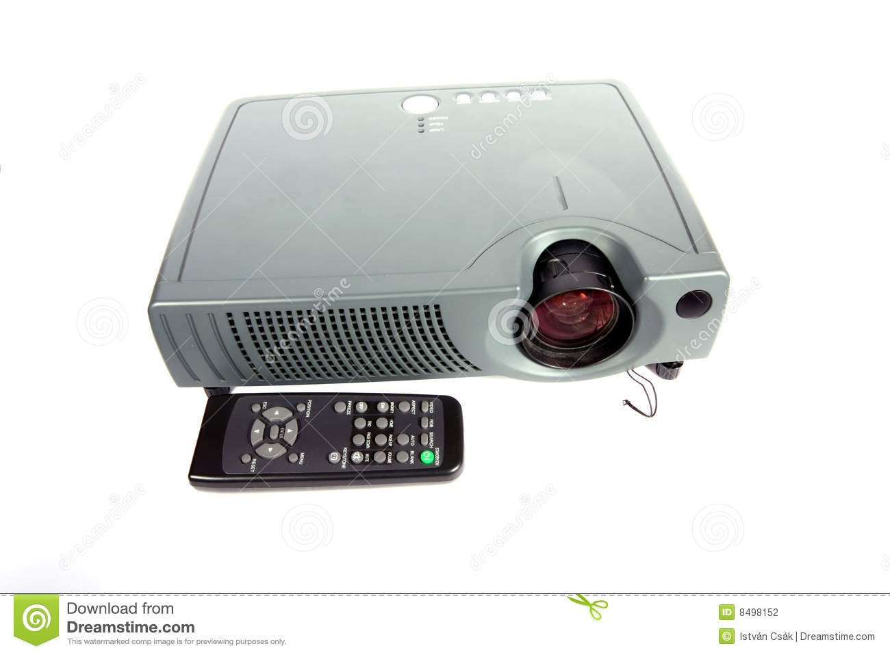 Modern Classroom Projector ~ Modern projector stock photography image