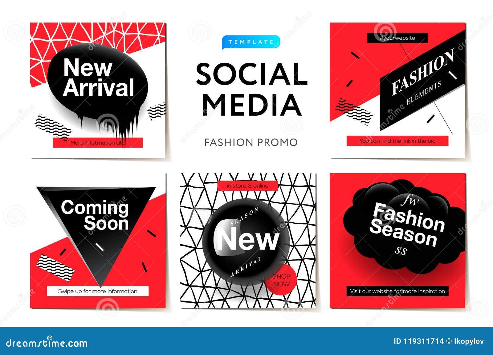 Modern Promotion Square Web Banner For Social Media Mobile