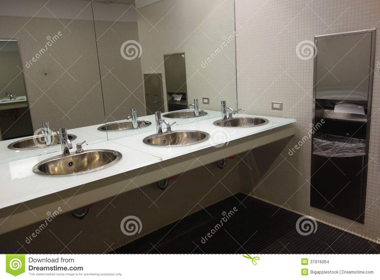 Public Bathroom Sink modern public restroom stock images - image: 37916064