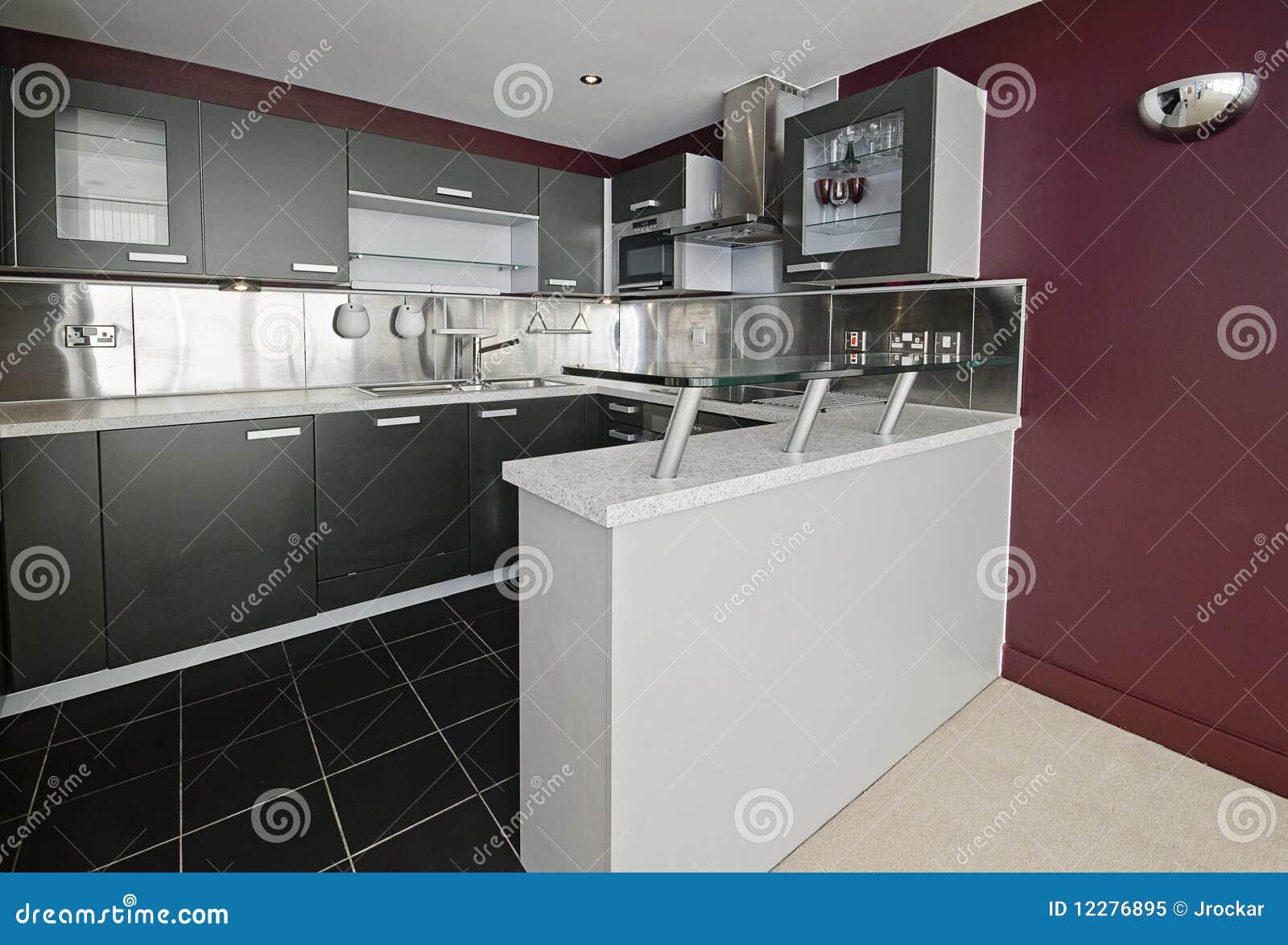 Modern purple för kök