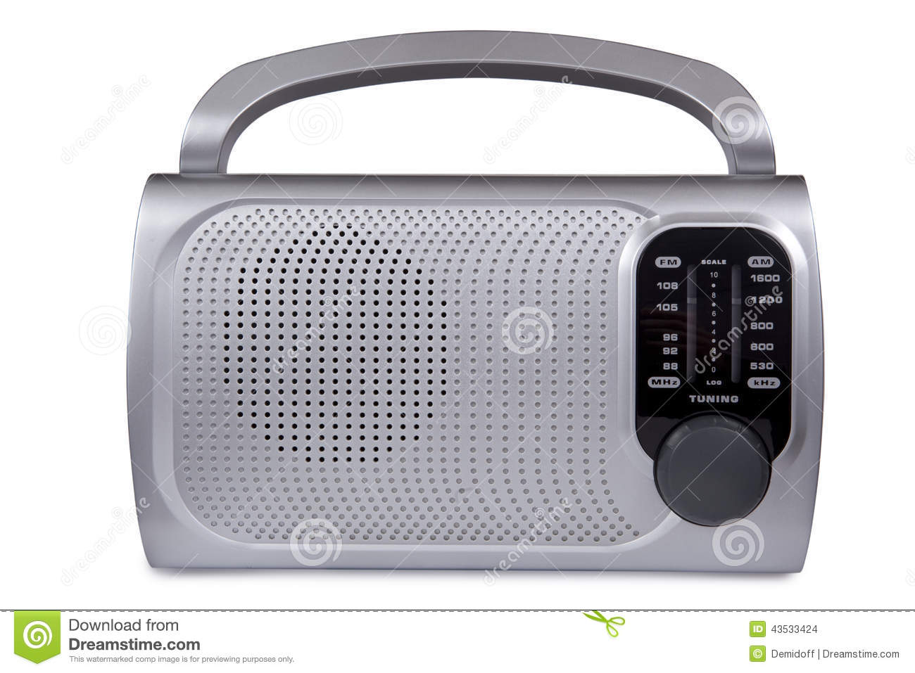 modern radio stock photo image 43533424