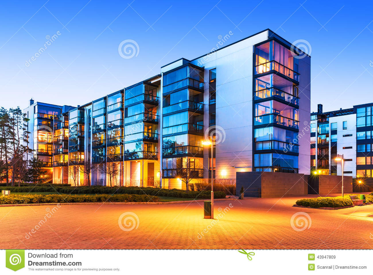 Modern real estate stock photo image 43947809 for Modern house real estate