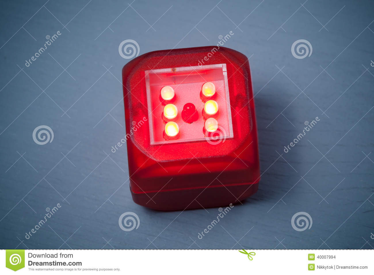 Blue Led Dice Motion Activated Modern Red Stock Photo Image Of Lamps Macro 1300x957