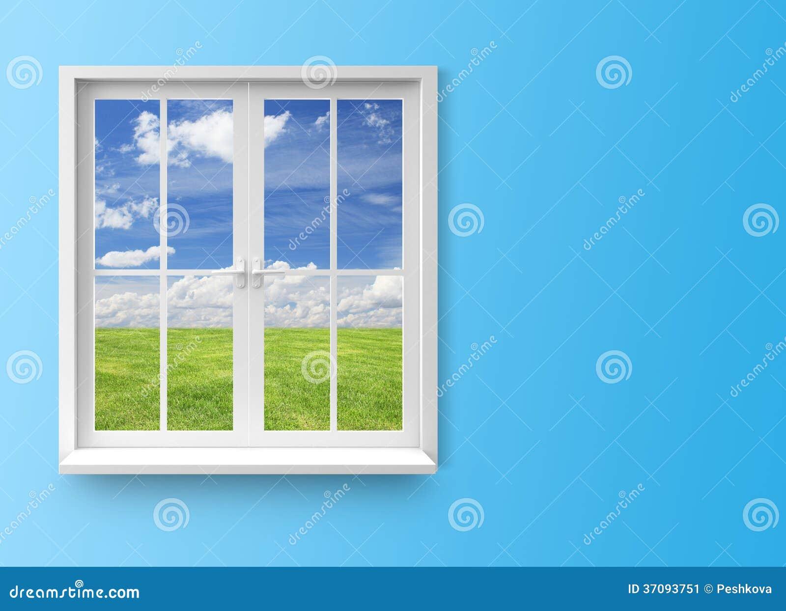 Modern residential window stock image image 37093751 for Modern window design residential