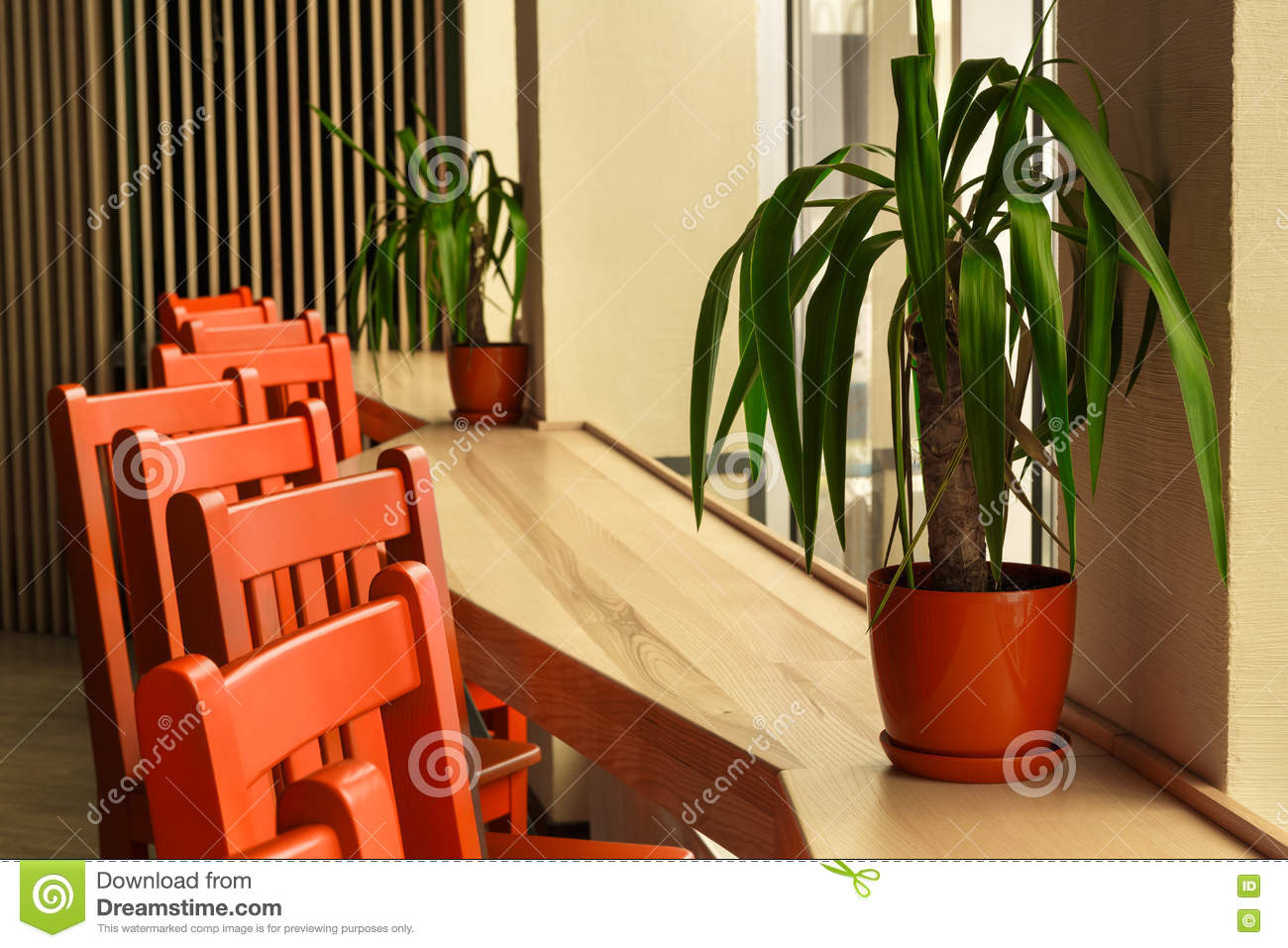 Modern Restaurant Bar Or Cafe Interior Stock Photo Image Of Cafeteria Hotel 78538780