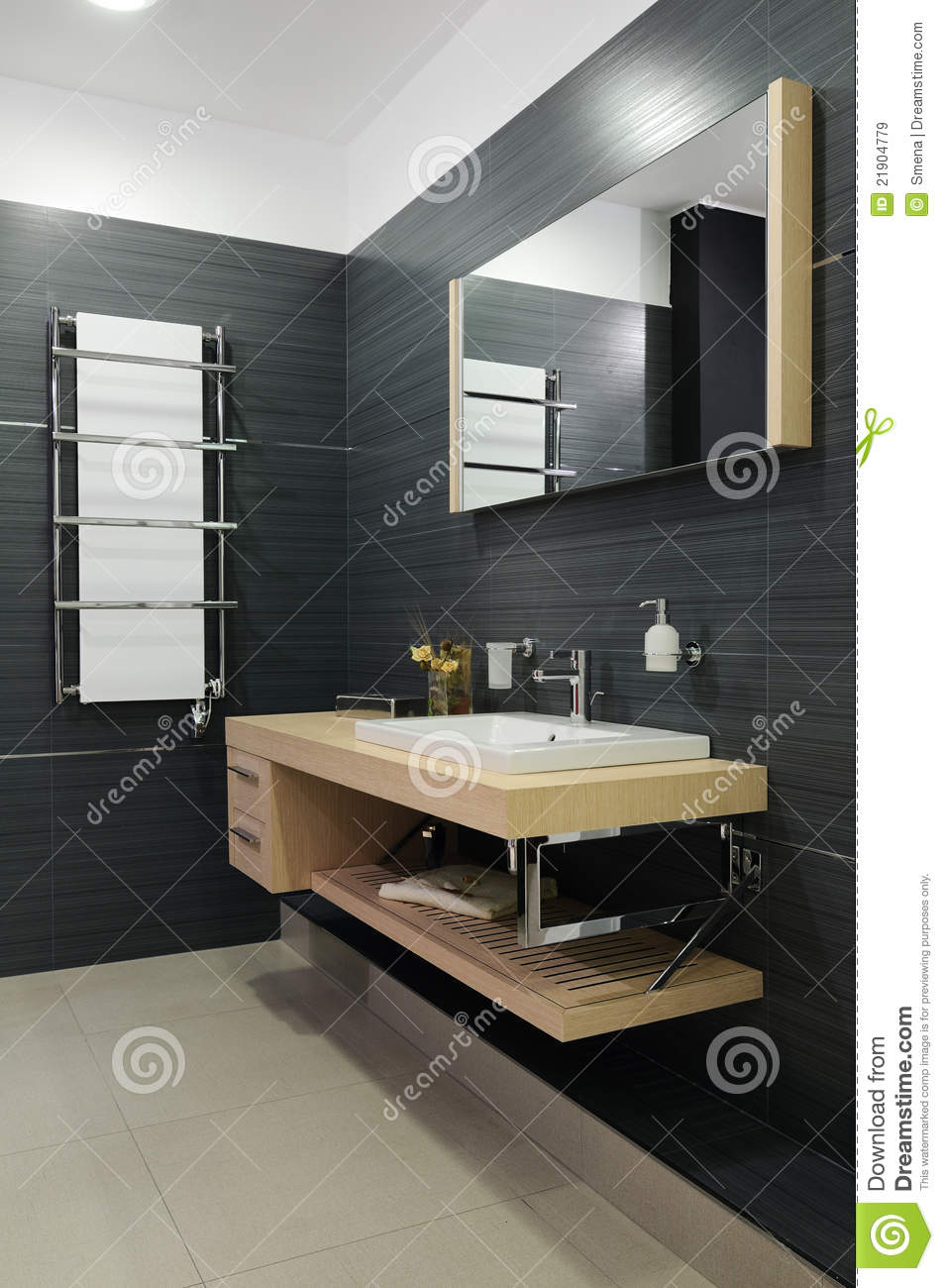Royalty-Free Stock Photo. Download Modern restroom ...