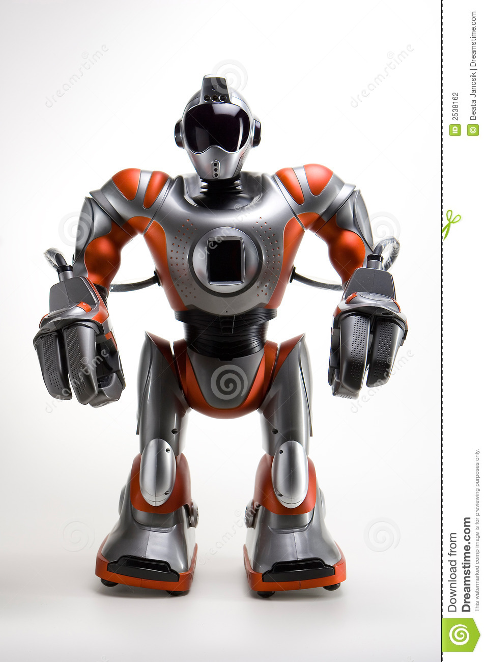 modern robot stock photography  image  - isolated modern