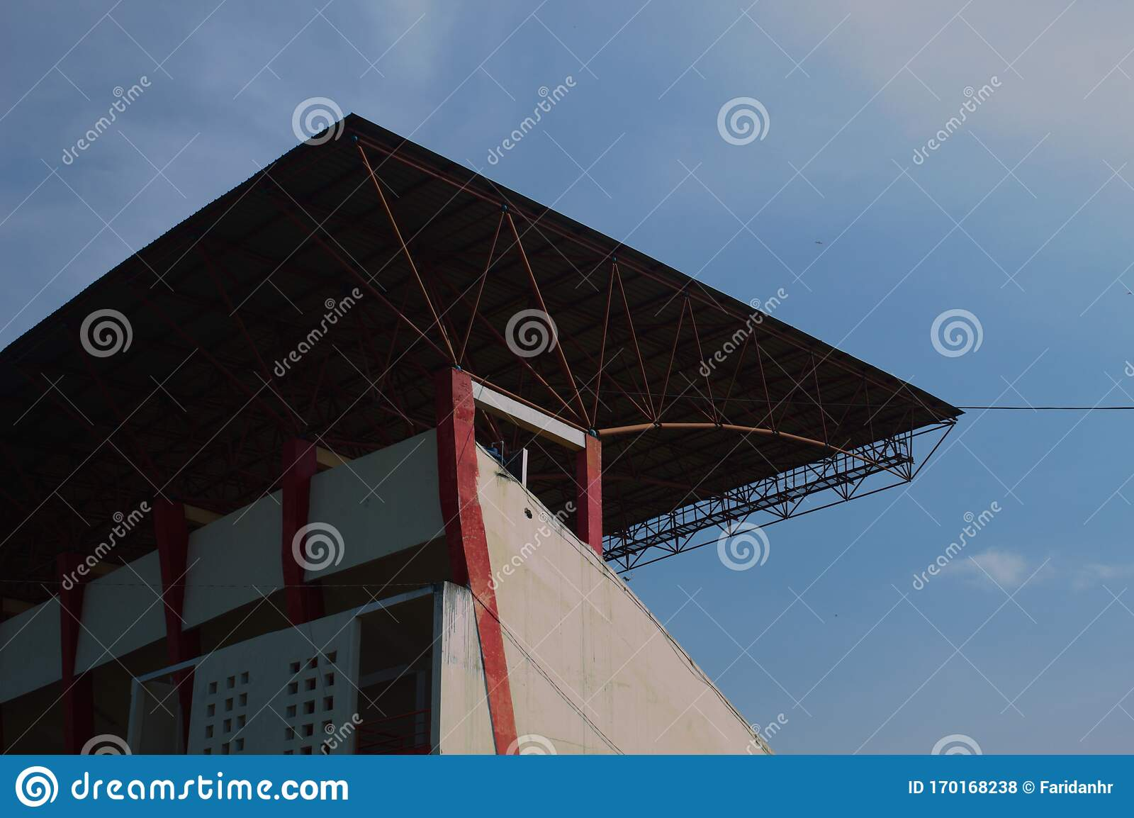 Modern Roof With Angular Architectural Design Stock Photo Image Of Industry City 170168238