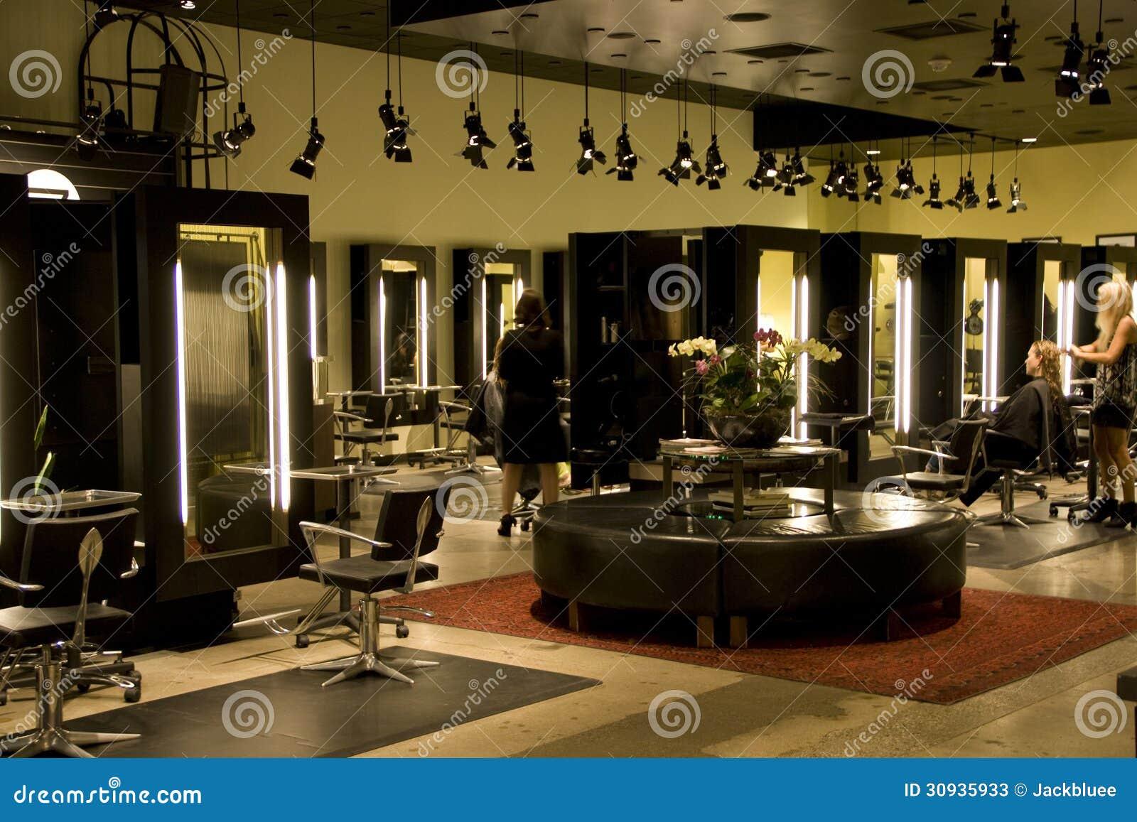 Modern salon editorial stock photo image of indoor for Salon seattle