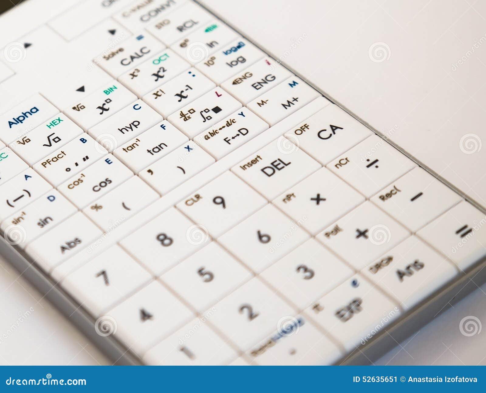 Modern scientific calculator
