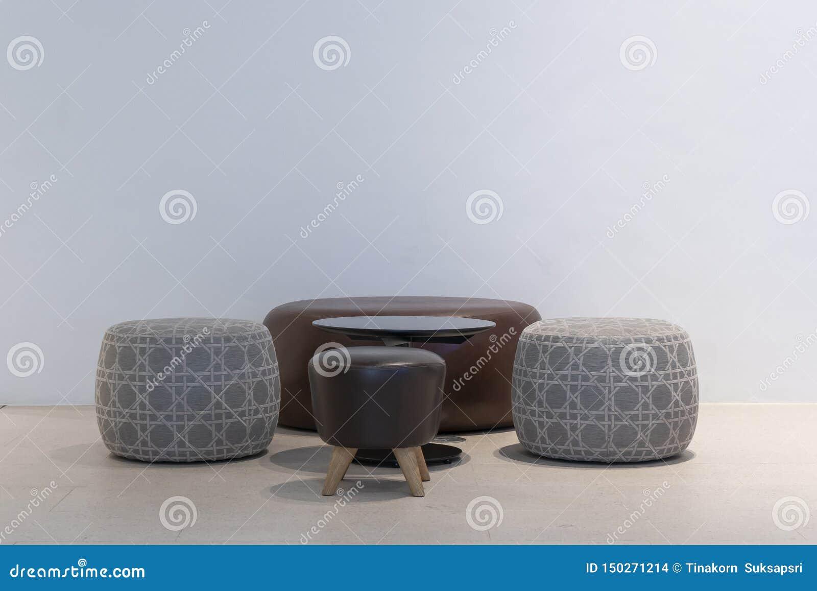 Terrific Modern Set Of Fabric Chairs Interior Decoration Stock Photo Creativecarmelina Interior Chair Design Creativecarmelinacom