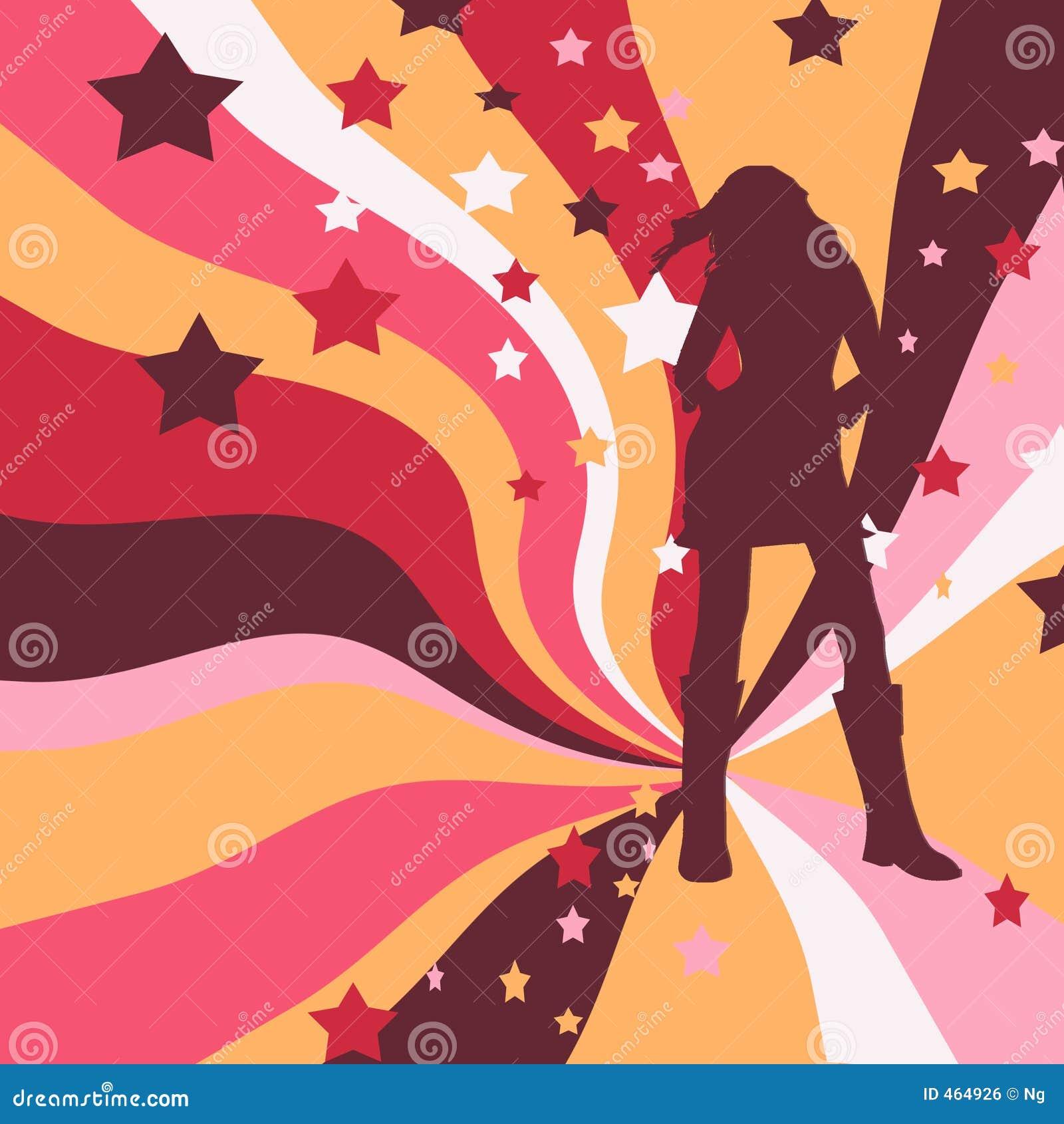 Download Modern long-legged woman stock illustration. Illustration of legged - 464926