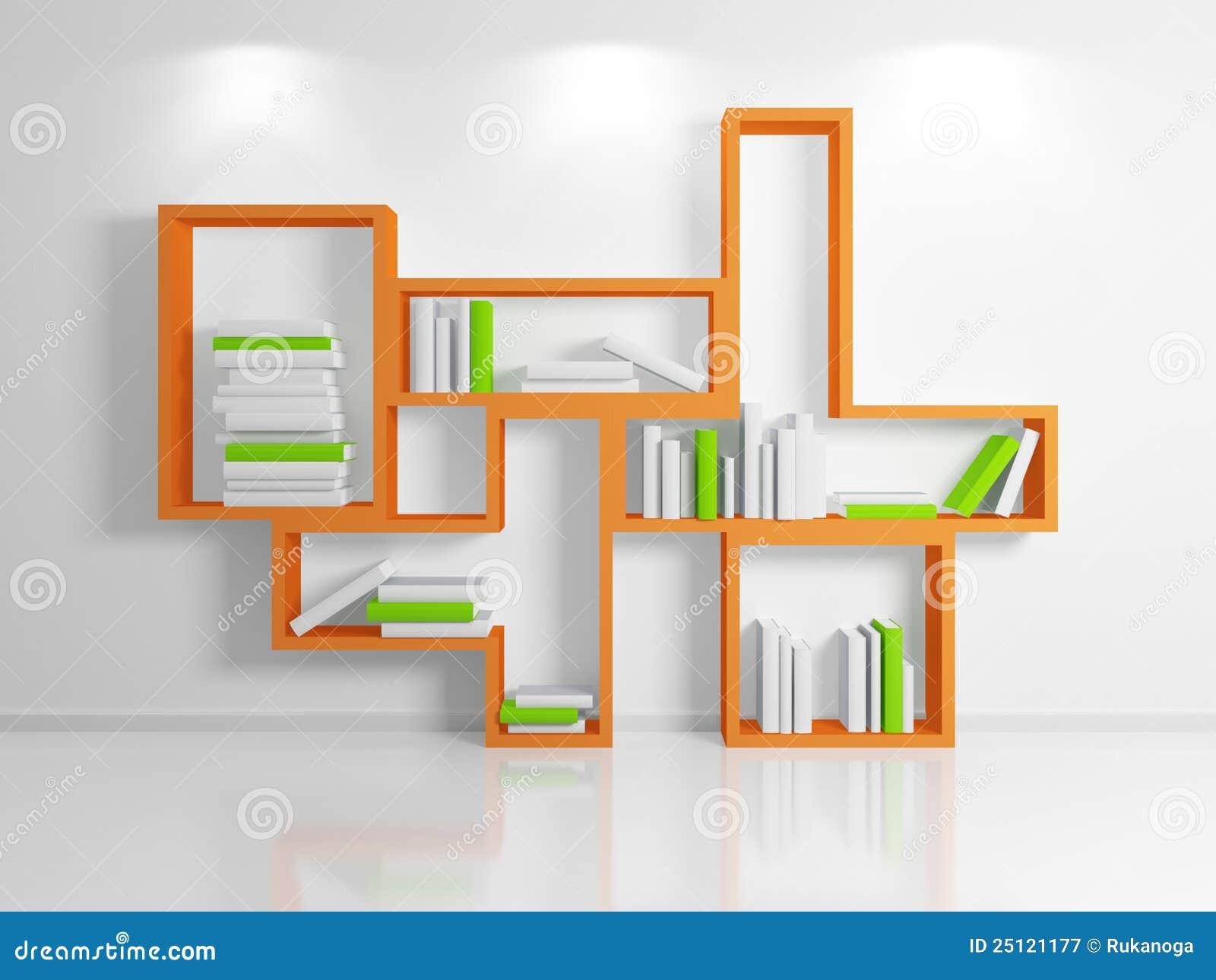 Modern Shelf Stock Illustration Image Of Abstract Empty