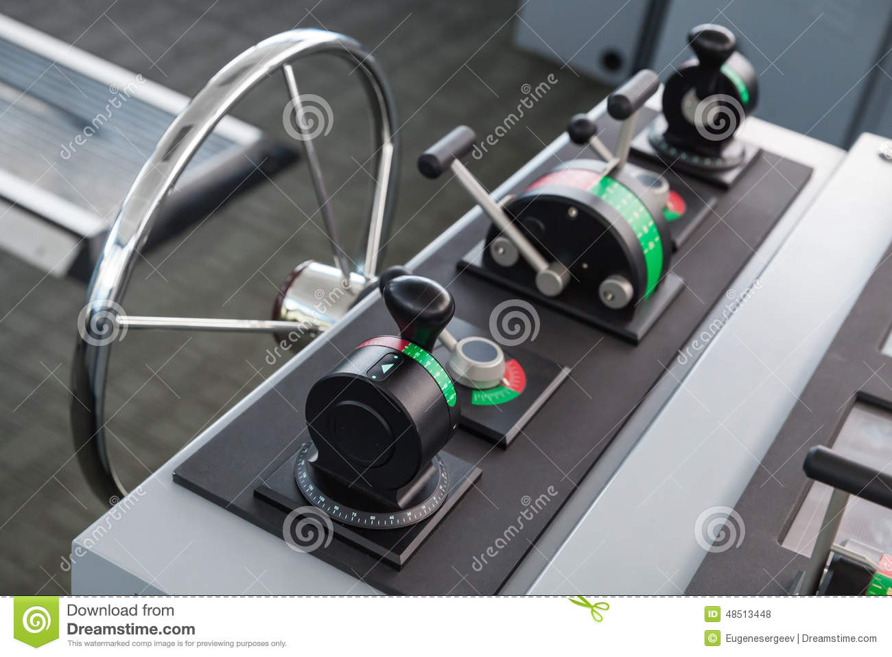 Throttle Handle For Boat