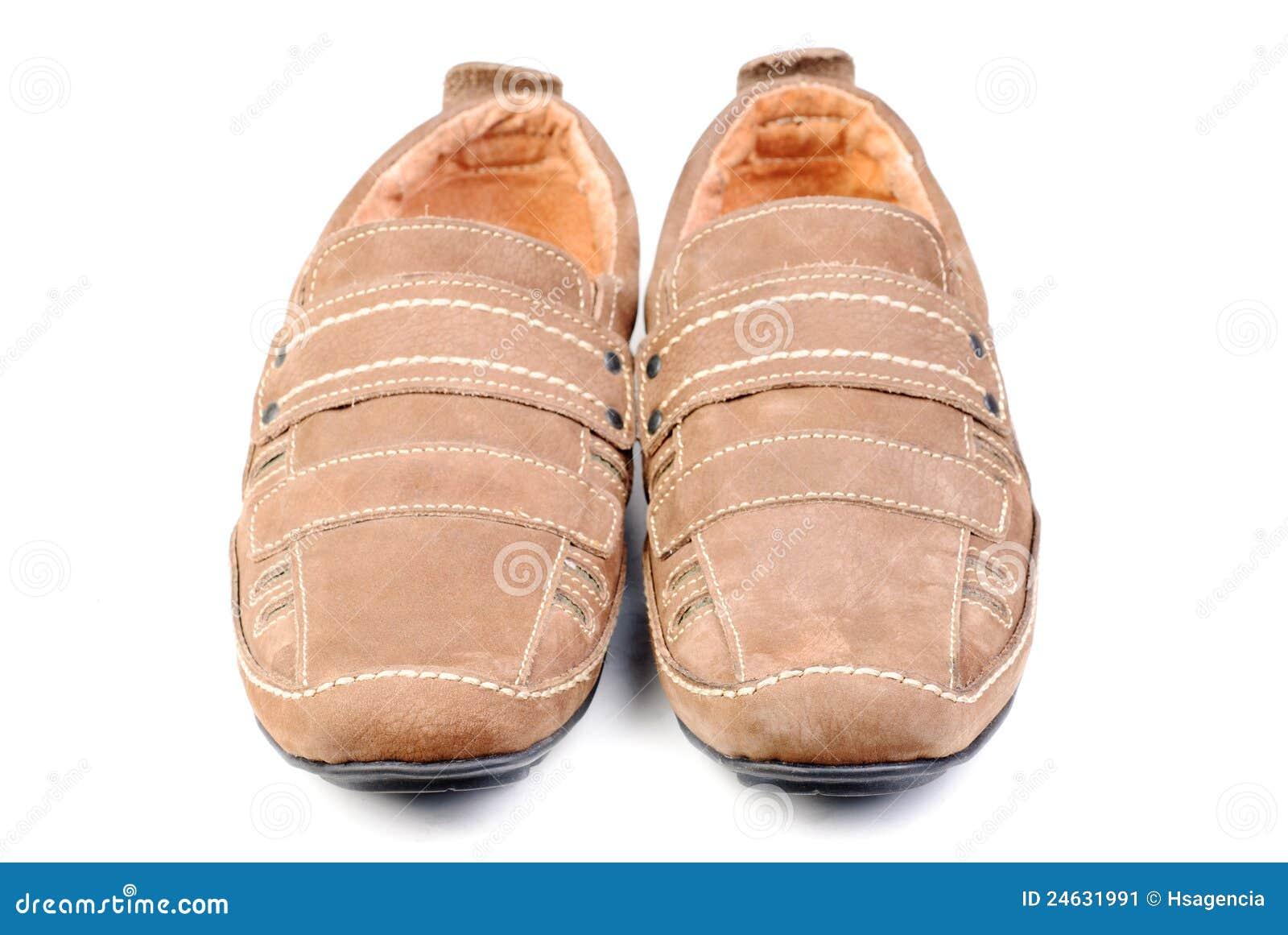 Modern shoe isolated ower white