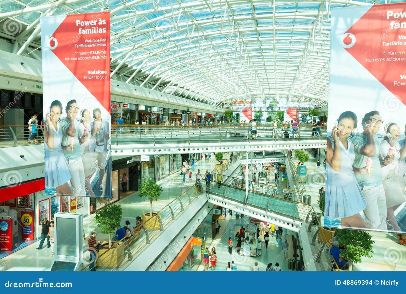 Modern shoping mall lisbon portugal editorial stock image modern shoping mall lisbon portugal sciox Gallery
