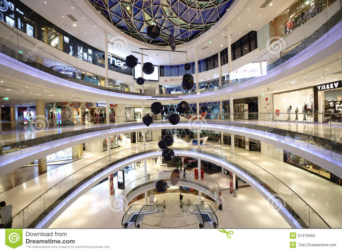 modern shopping center in paris editorial image image of trendy