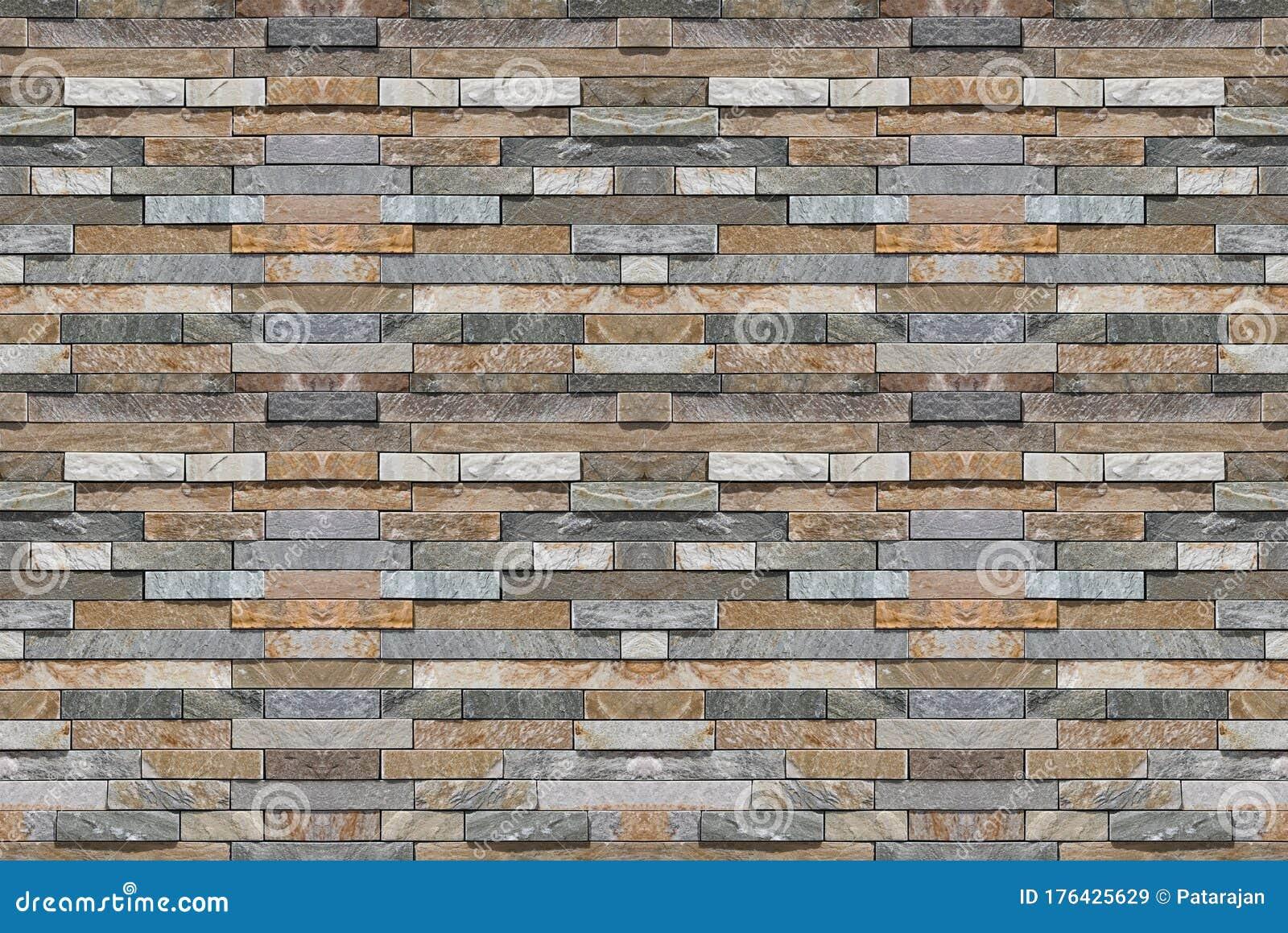 Modern Slim Design Marble Stone Brick Block Masonry Fence Wall Texture Background Stock Image Image Of Modern Decor 176425629