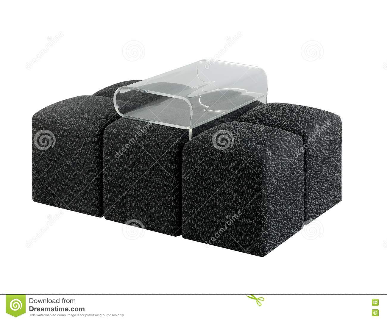 Modern sofa design with magazine holder royalty free stock Modern design magazine