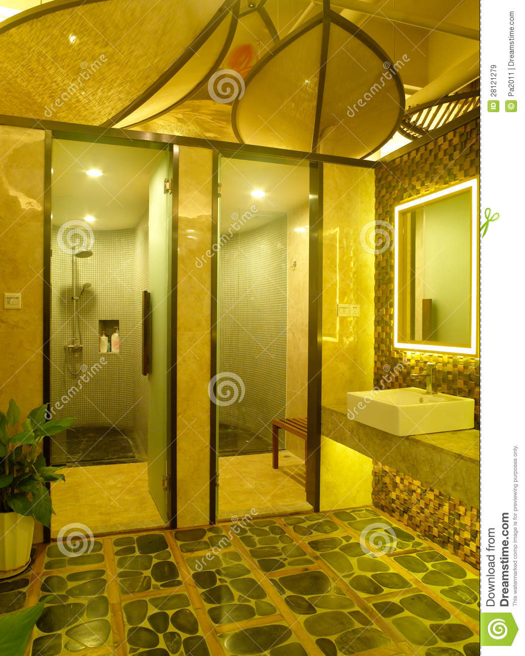 Royalty Free Stock Photo Bathroom Design Interior