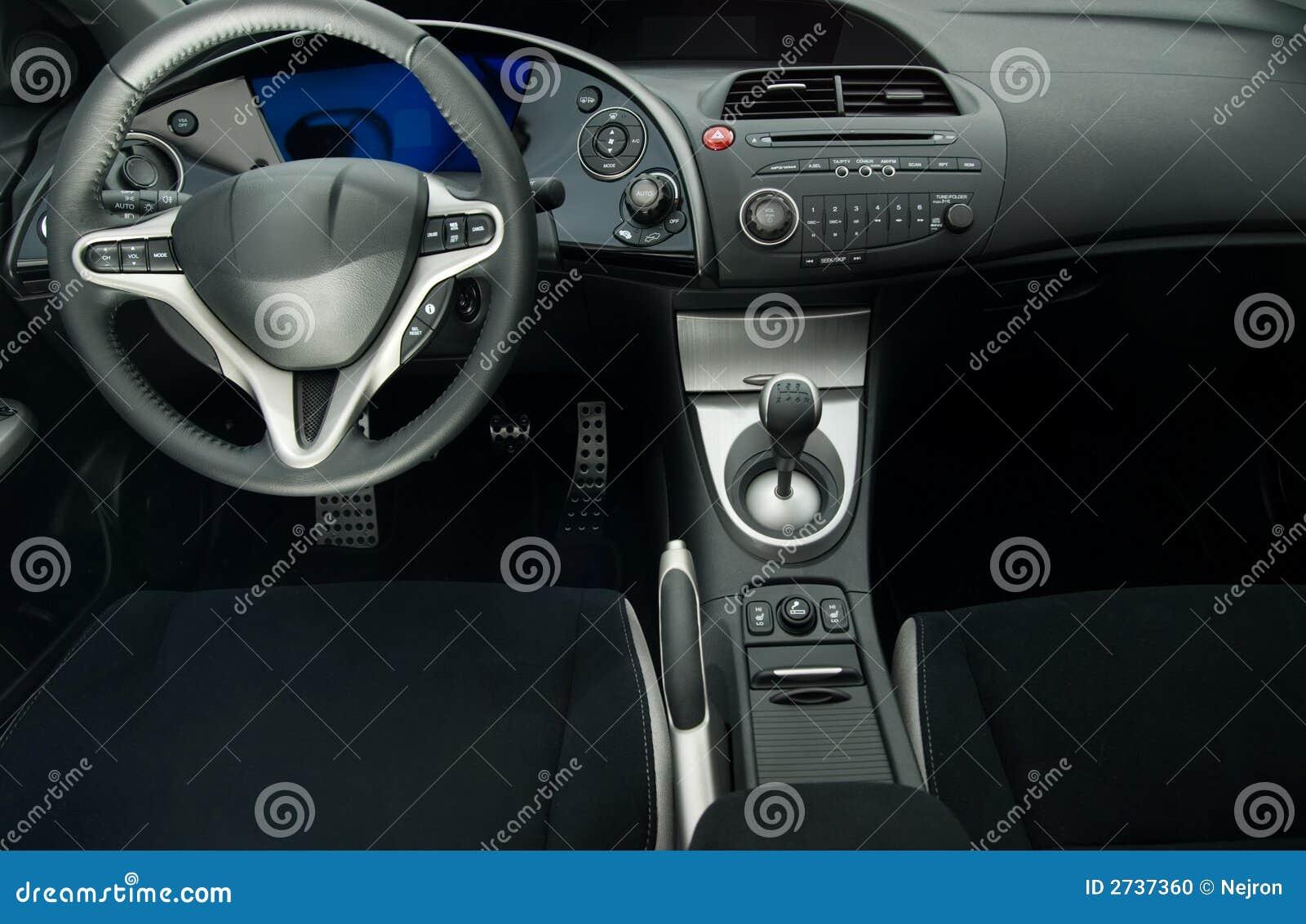 modern sport car interior stock photo image of design 2737360. Black Bedroom Furniture Sets. Home Design Ideas