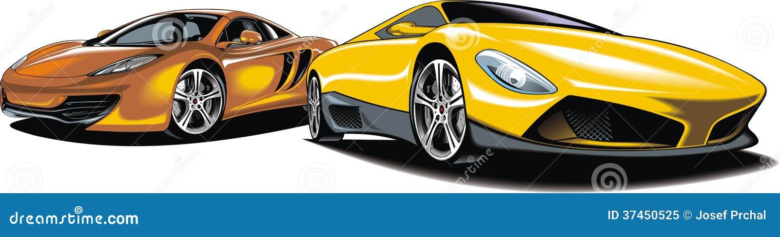 Modern sport cars (my original design)