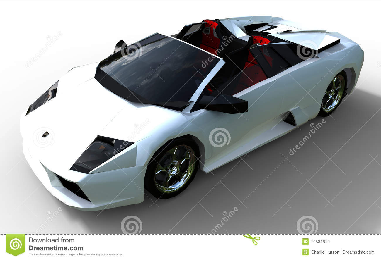 A Modern Sports Car Stock Illustration Illustration Of Lights - Modern sports cars