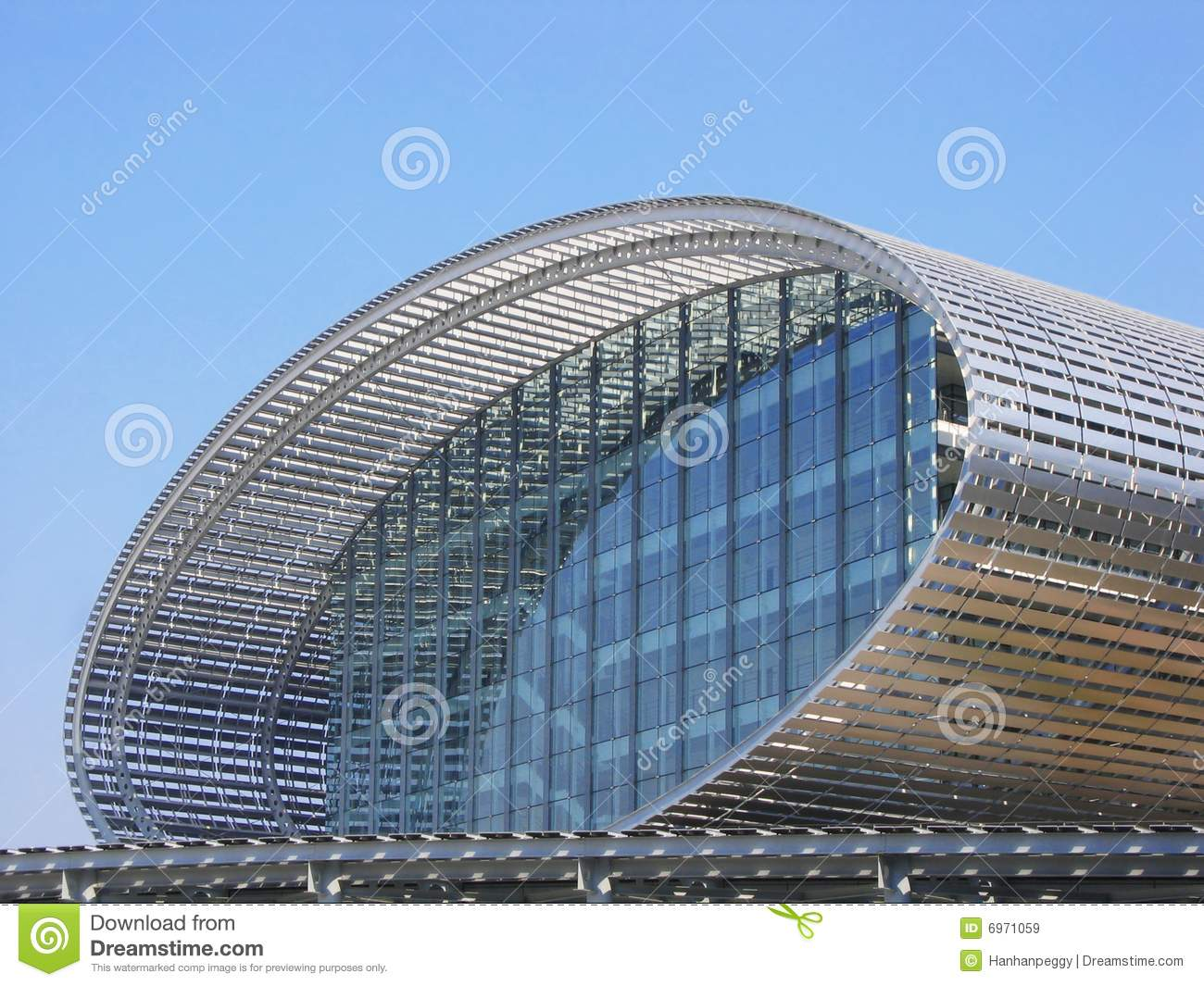 Modern Steel Building Royalty Free Stock Images Image