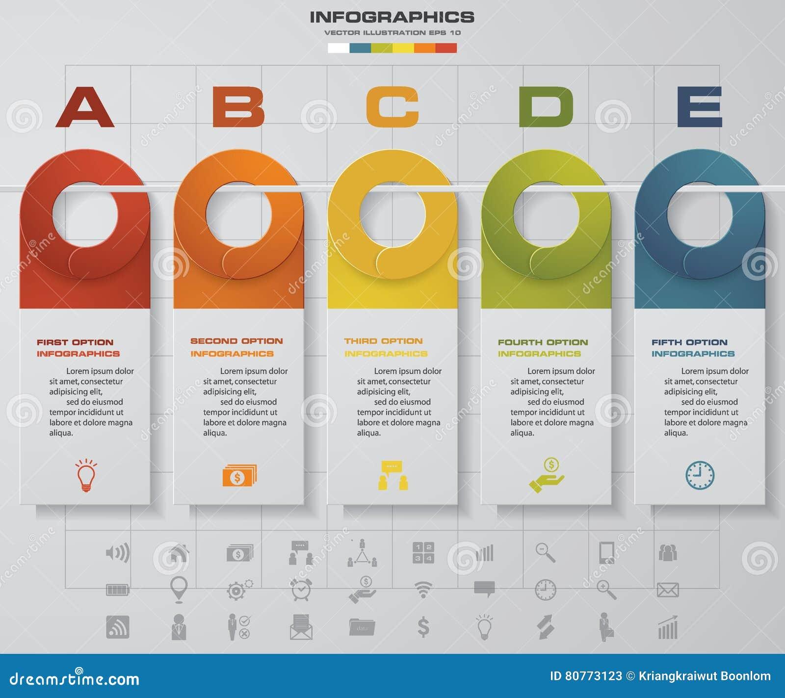 Website Timeline Template. design clean number timeline ...