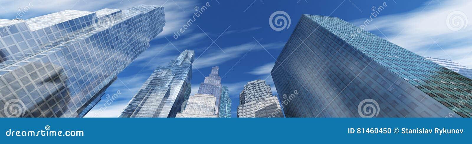 Modern stigning för byggnader high
