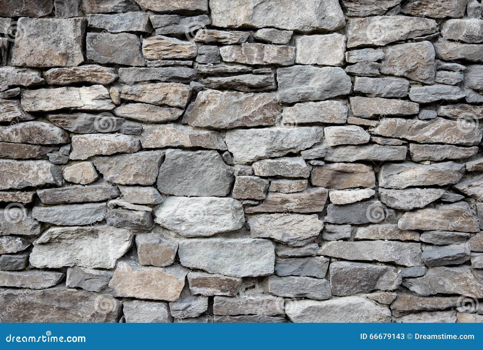 Modern Stone Facade Rock Wall Stock Image Image 66679143
