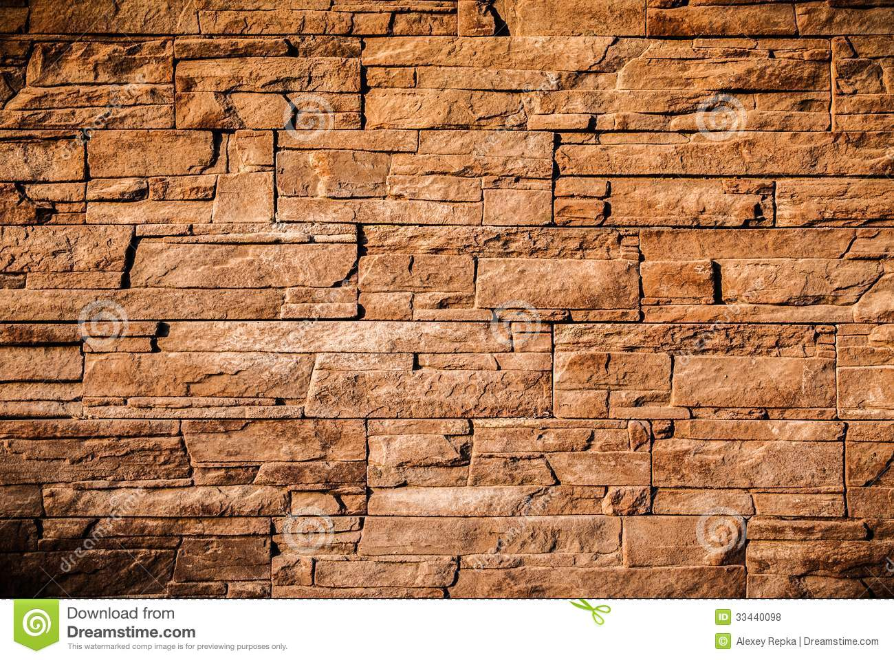 Modern Stone Wall Background Texture Stock Photo Image