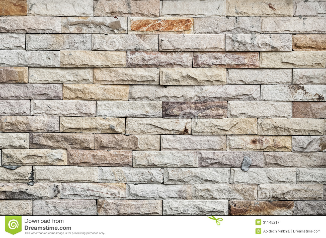 Modern Stone Wall Royalty Free Stock Photography Image