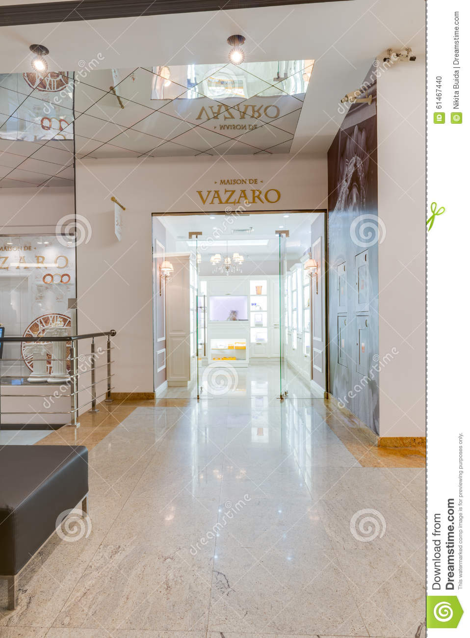 Modern Store Interior Editorial Image Image 61467440