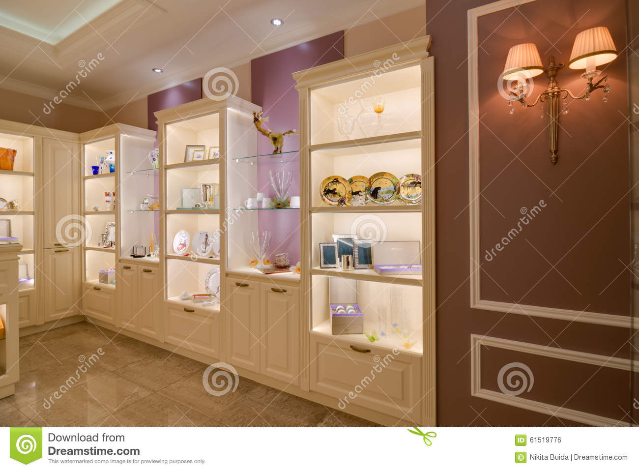 Modern Store Interior Editorial Photo Image 61519776