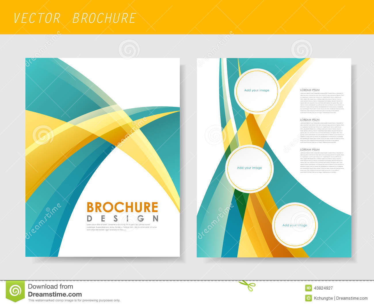 Modern streamlined flyer template for business stock vector modern streamlined flyer template for business royalty free vector accmission Image collections
