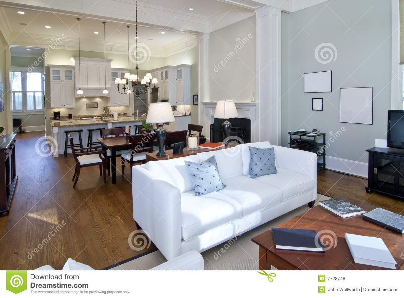 Modern Studio Apartment Royalty Free Stock Photos - Image: 7728748