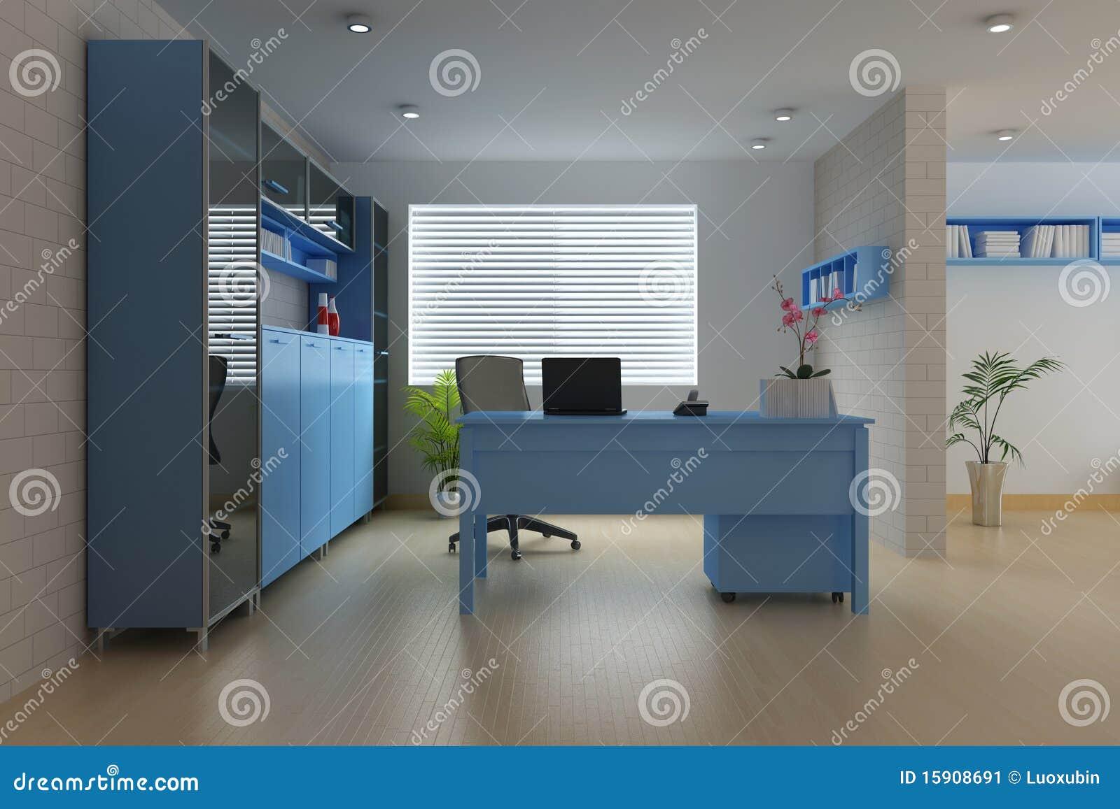 Modern Study Room Stock Image Image 15908691