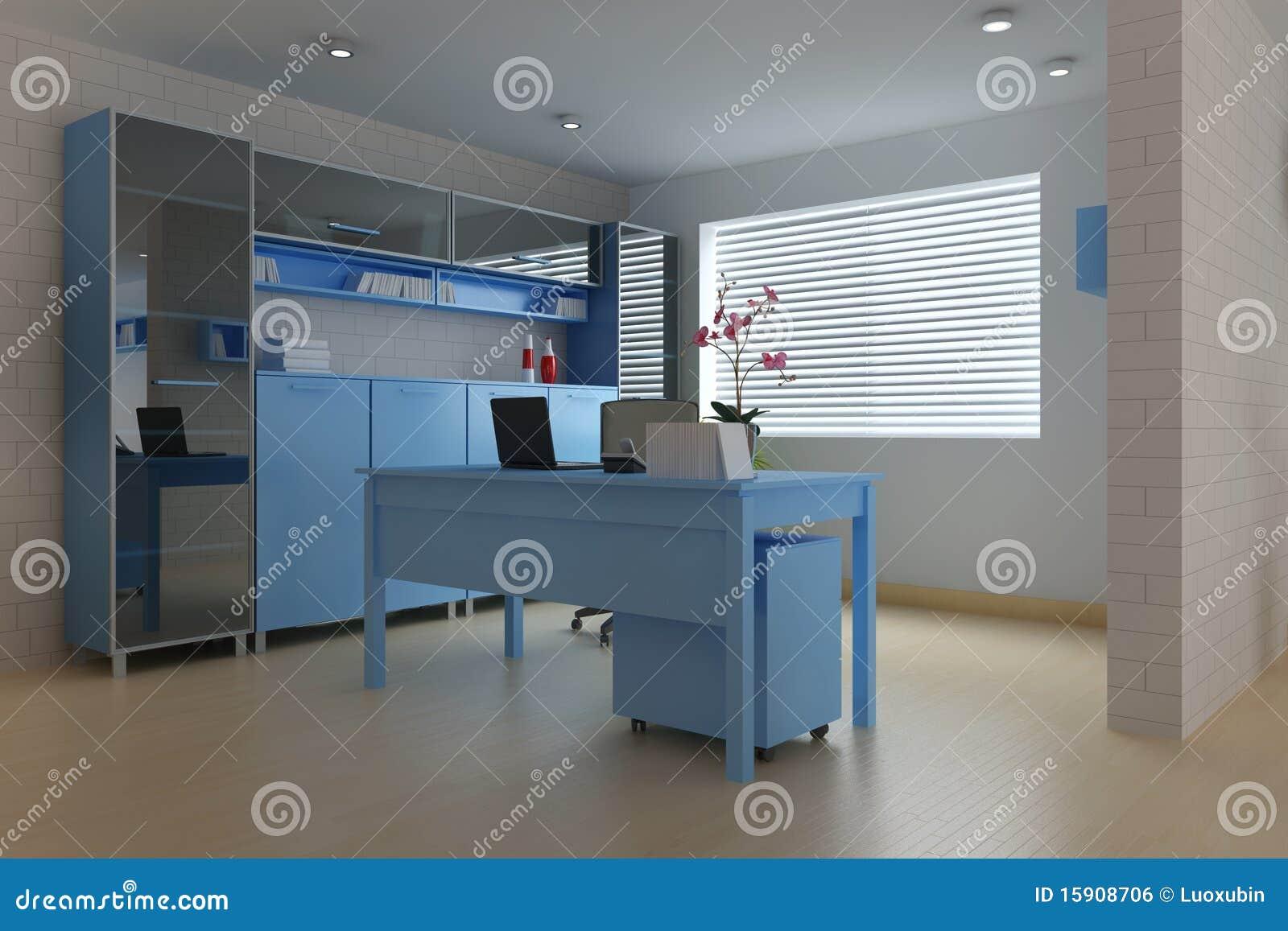 Modern Study Room Royalty Free Stock Image Image 15908706