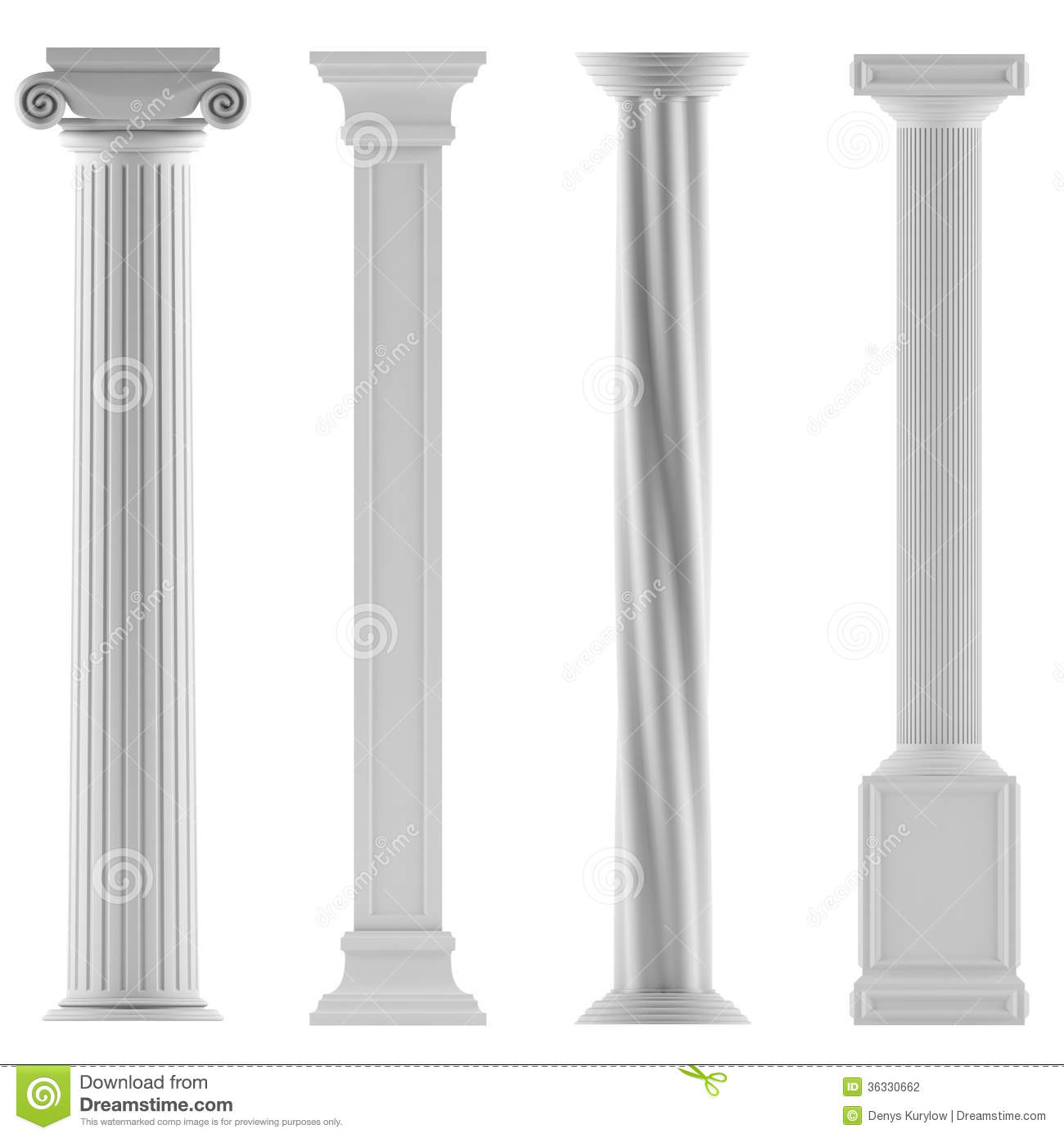 Modern columns architecture the image for Architectural columns