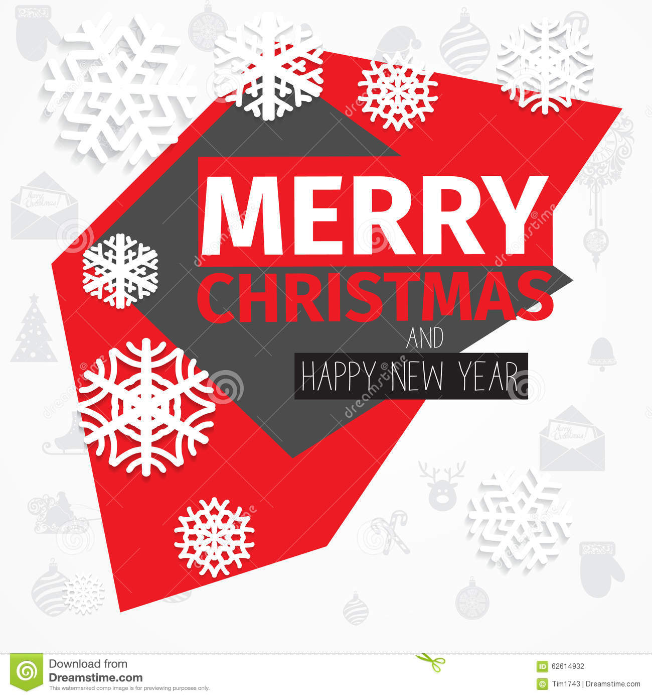 Download Modern Style Red Black White Color Scheme Christmas .