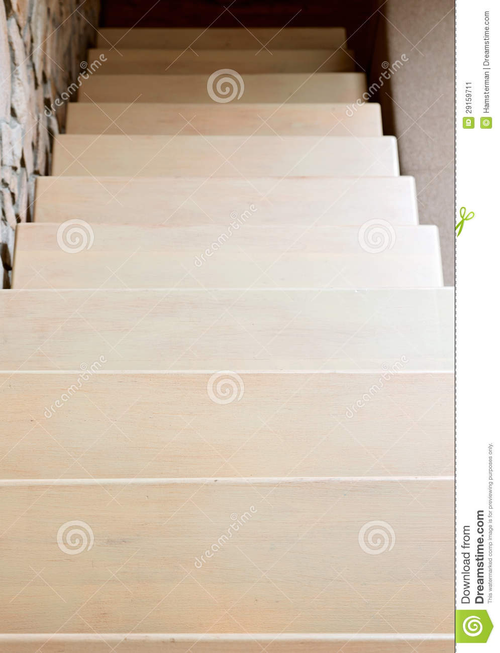 Modern Style Staircase In Beige Tone Stock Image Image