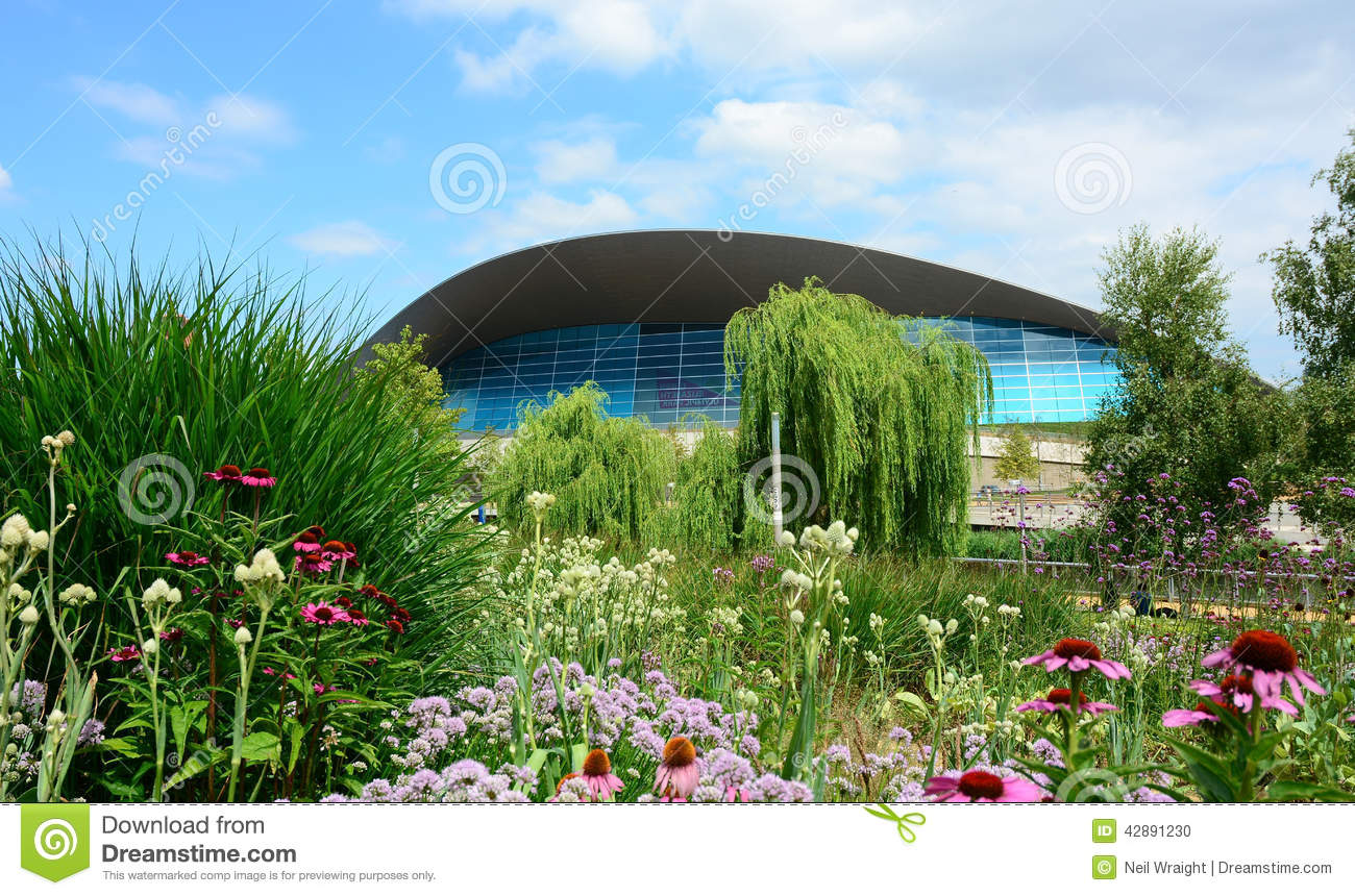 stratford olympic park swimming pool modern swimming pool building editorial image image of