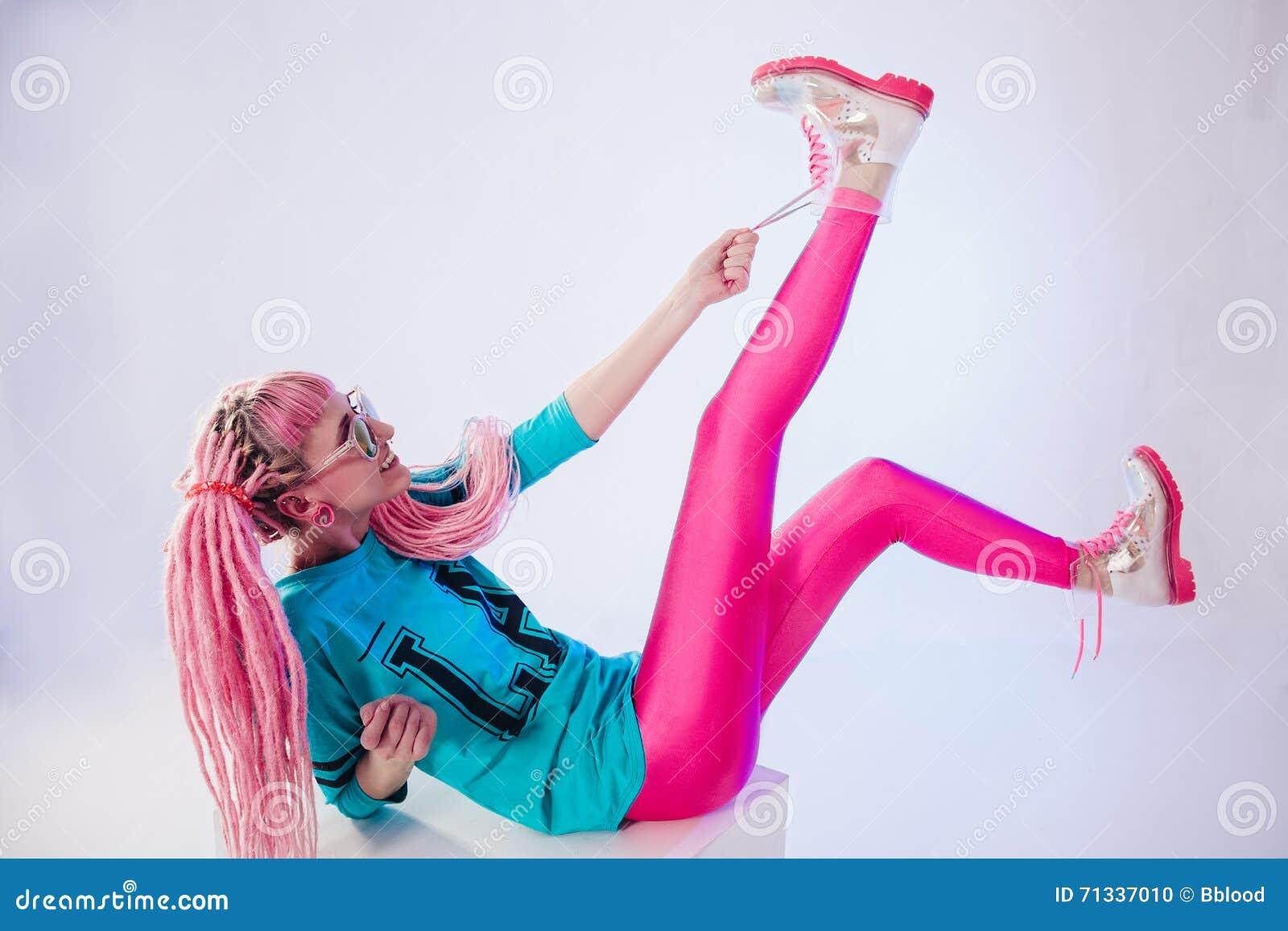 Cool teenage girl with makeup cartoon vector for Modern teenage girl