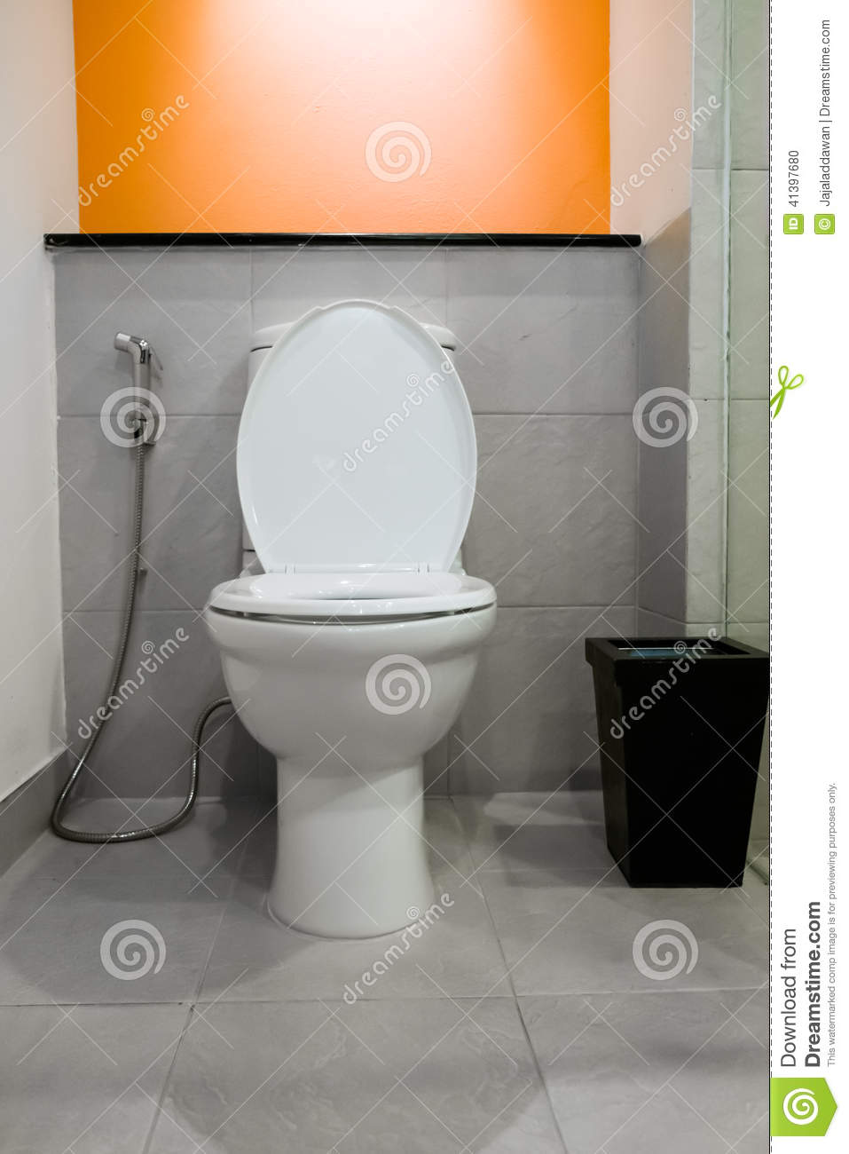 Modern Toilet Room Stock Photo Image Of Accessories