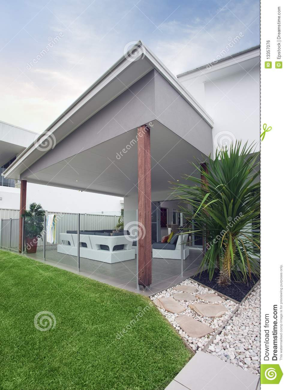 Modern Townhouse Exterior Stock Photo Image Of Sale 13357076