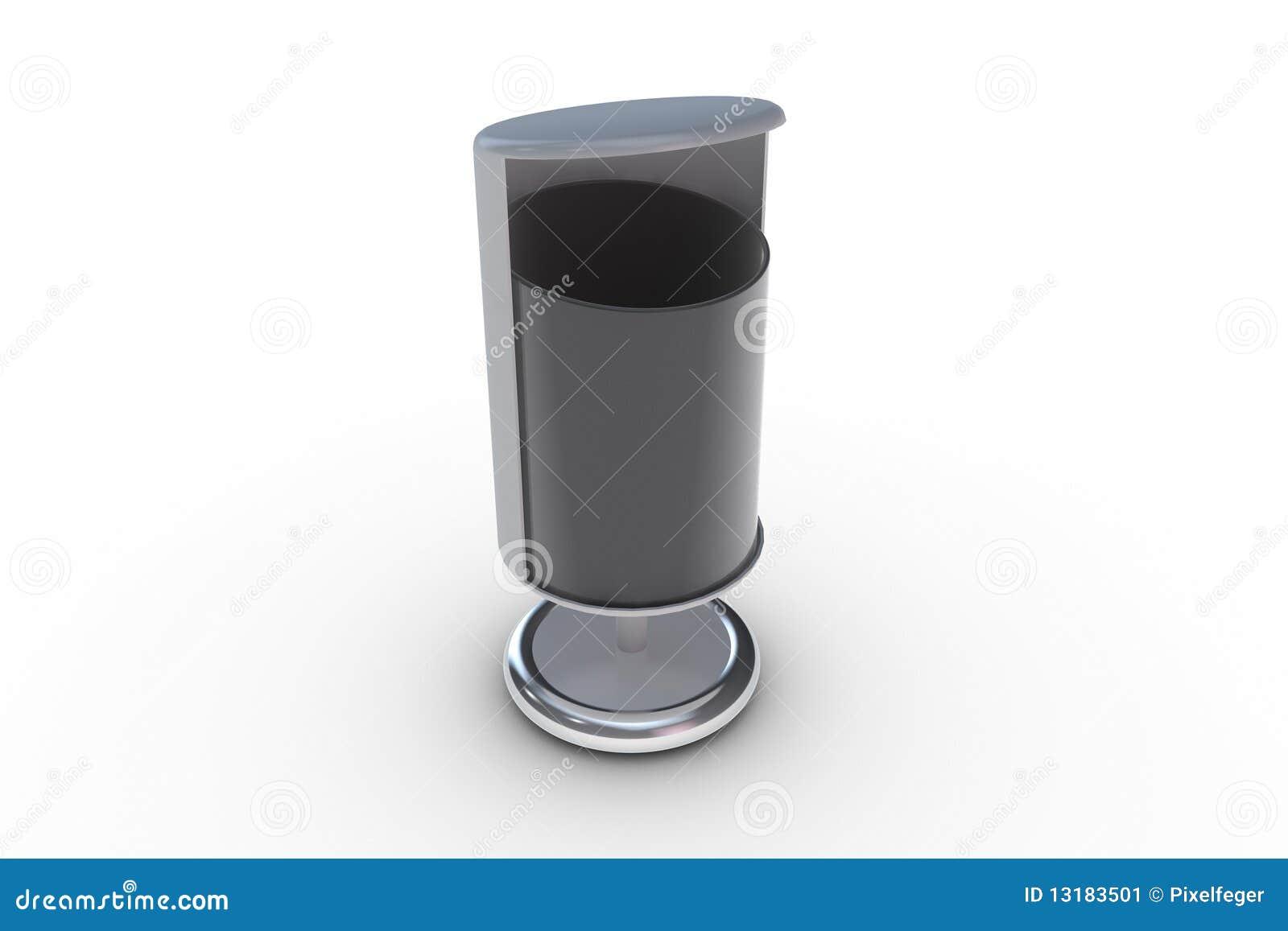 modern trash can stock image  image  - royaltyfree stock photo can trash