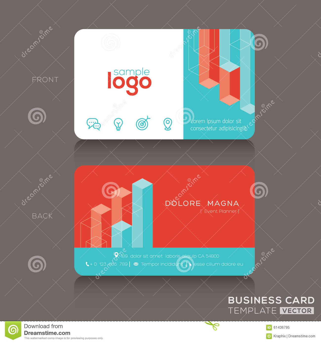 trendy business cards - Targer.golden-dragon.co